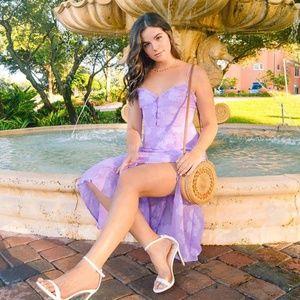 New Elaina Floral Midi Dress